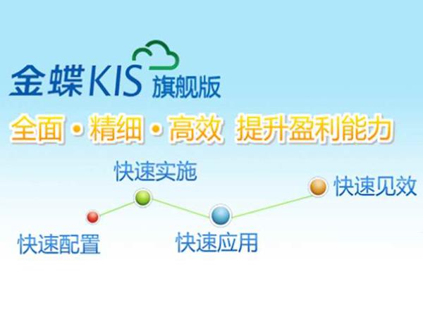 金蝶KIS旗旗版2.0發布